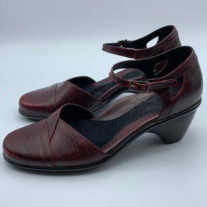 Dansko Croc Roxy Mary Jane Heels Size 41 (10.5-11)